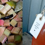 Smak av sommer: rabarbrasaft