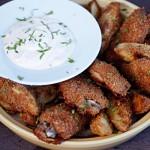 Fredagskjesk: parmesanpanerte kyllingvinger