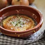 Fransk løksuppe