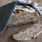 Eltefritt brød med pekannøtter
