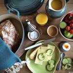 Eltefritt semulebrød med nigellafrø