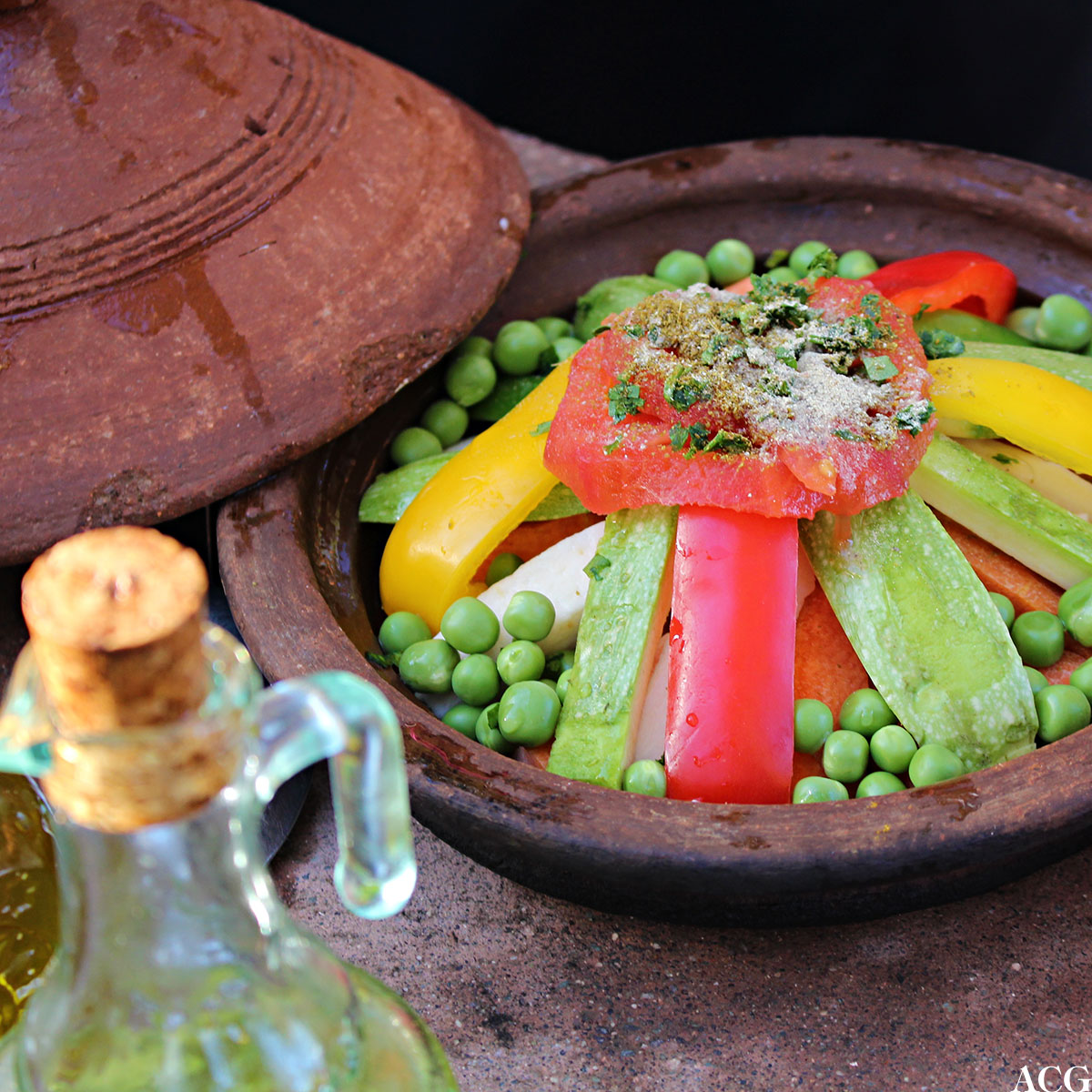 Grønnsakstagine