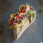 Restemat: sandwich med marinert svineknoke