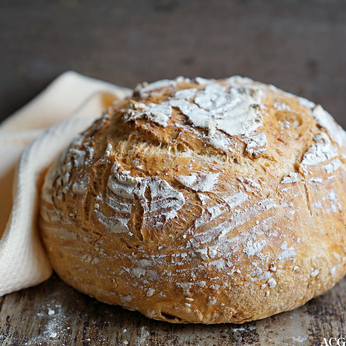 Eltefritt brød med egg