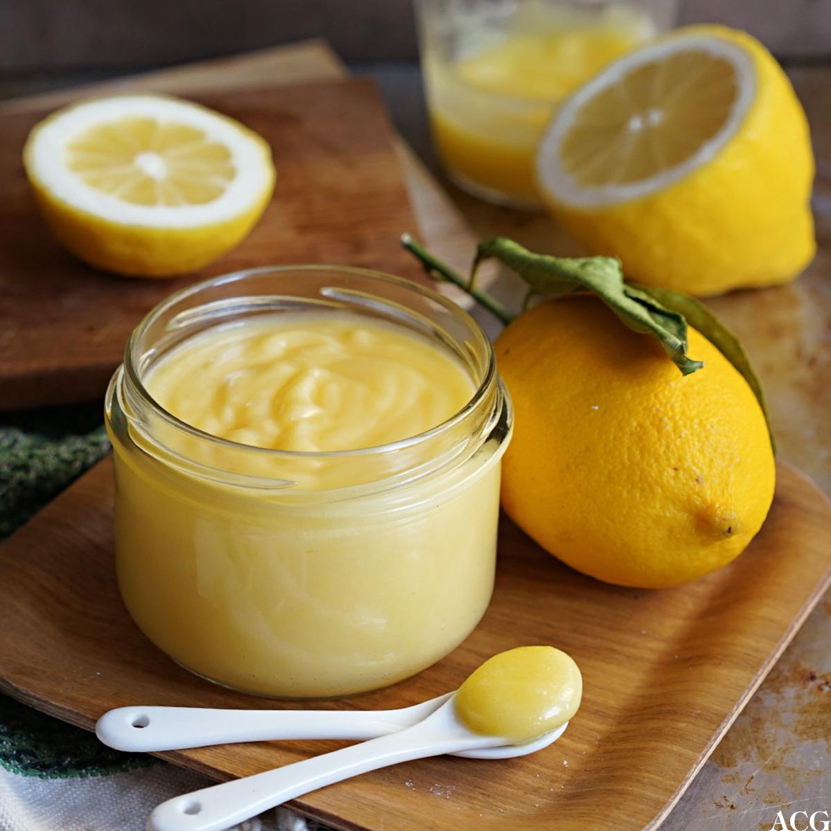 hjemmelaget lemon curd