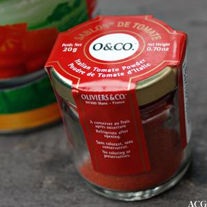 tomatpulver fra Oliviers & Co