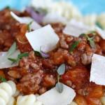 Klar, ferdig – ferdig  pasta med kjøttsaus!