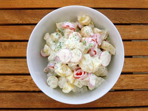 potetsalat fra Danmark