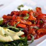 Svinaktig god chili