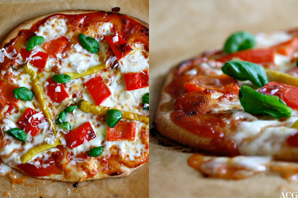 Peperoni - italiensk pizza