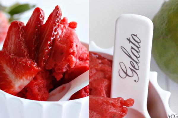 Jordbær- og limesorb et