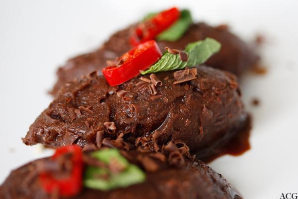 Mochasorbet med chili