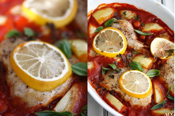 to bilder av kylling i form