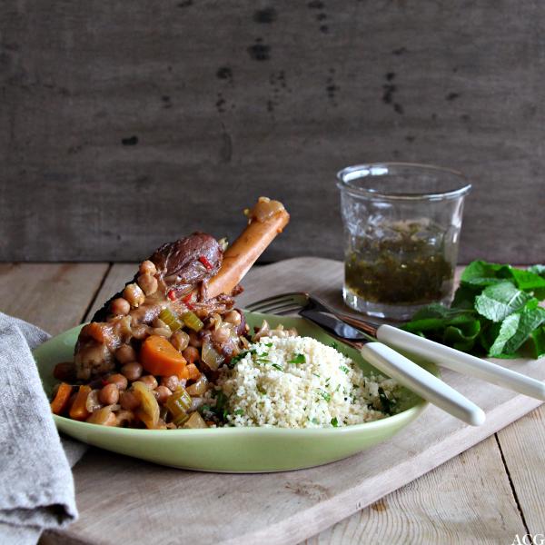 lammeskank og couscous