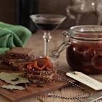 Sild med portvin og tomatsaus