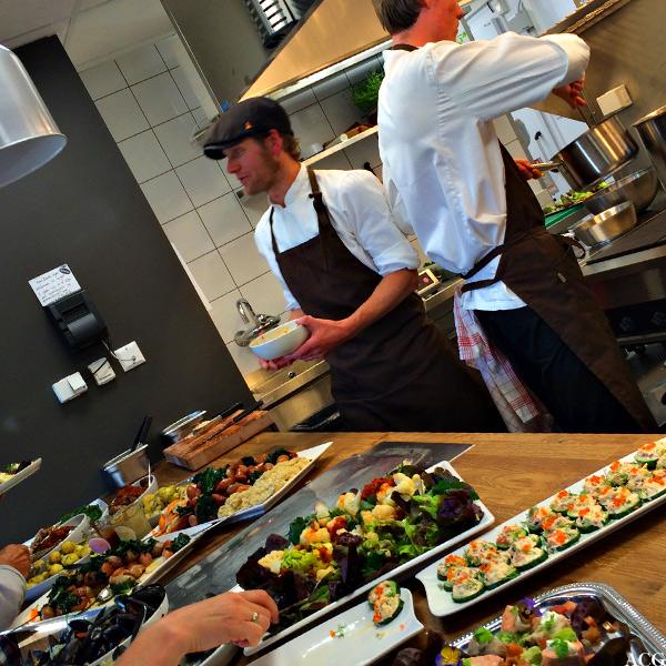 Bilde av kokkene på Bønder i byen
