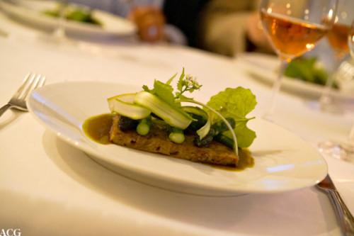 Andeterrin med asparges fra Holum