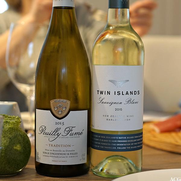 vint til asparges: Pouilly Fumé og Twin Islands