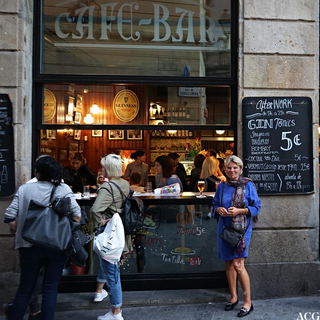 Tapasbar i Barcelona