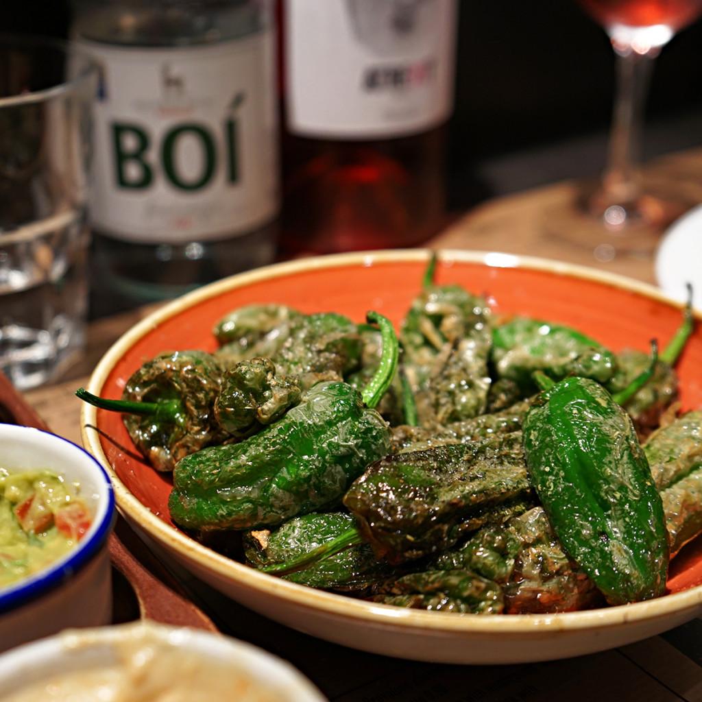 Stekte grønne paprika - piemnton padron