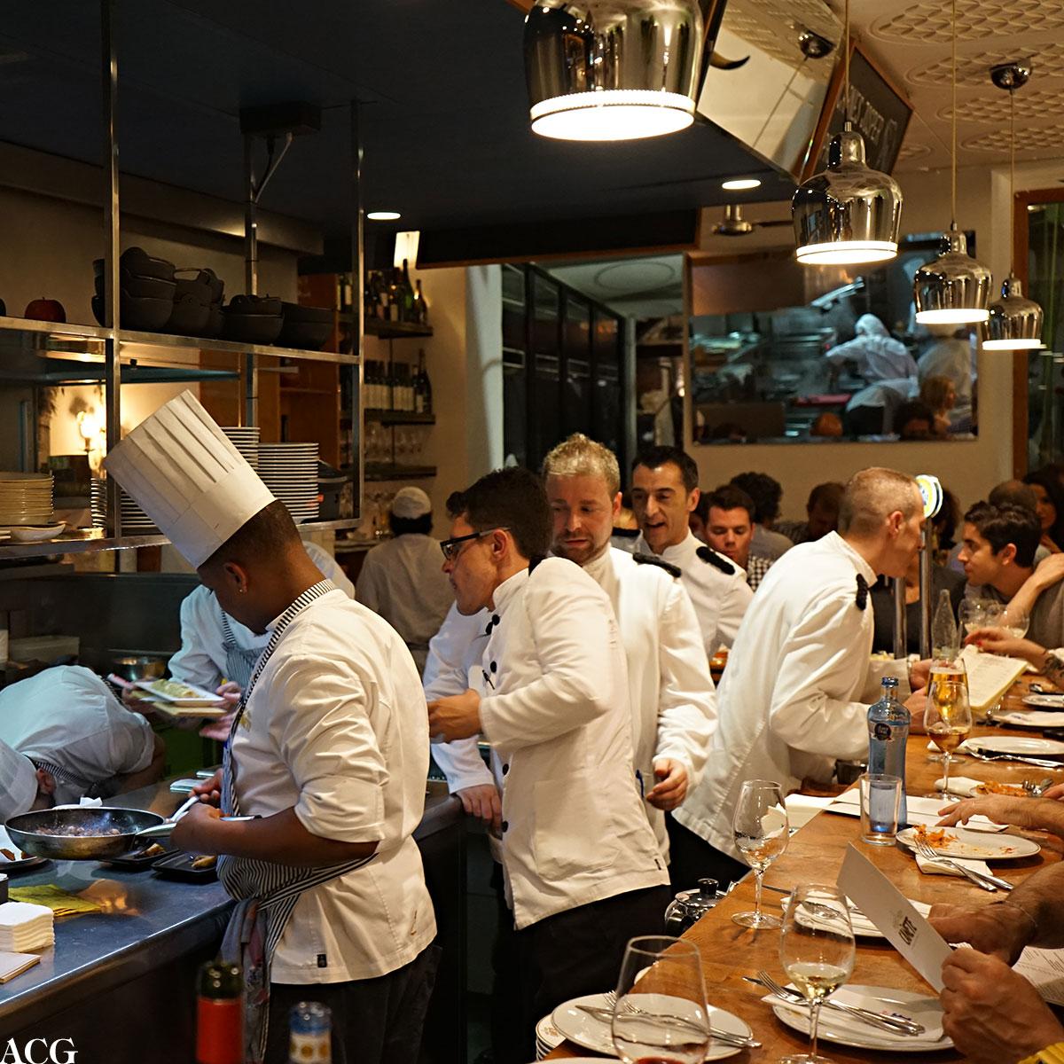 kjøkkenet til Bar Cañete