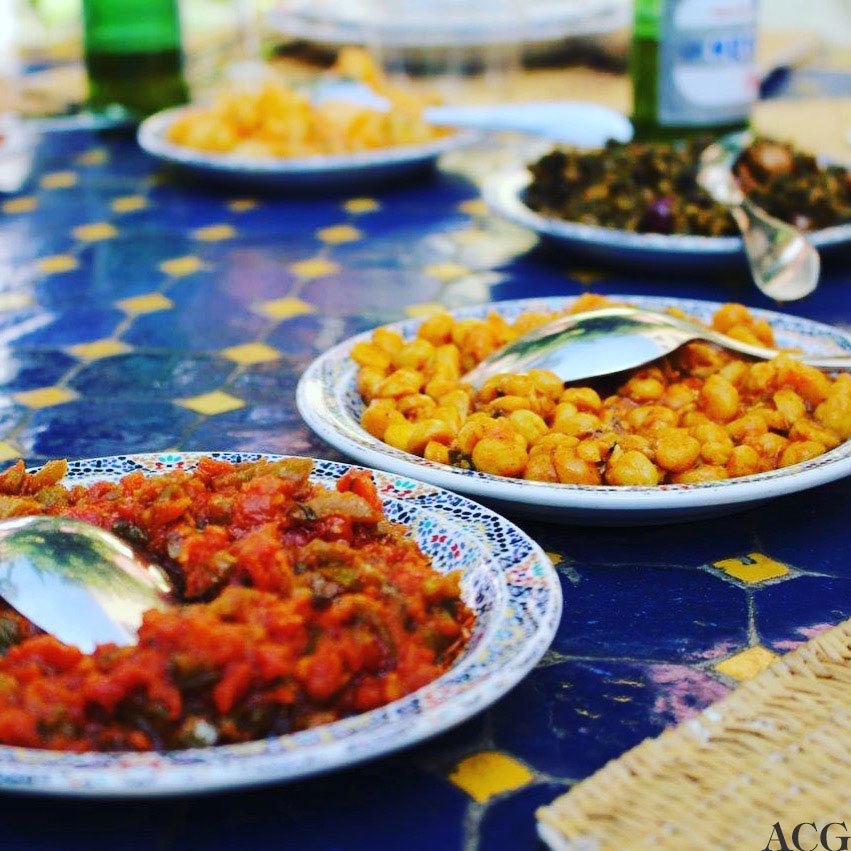 Meze i Marrakech