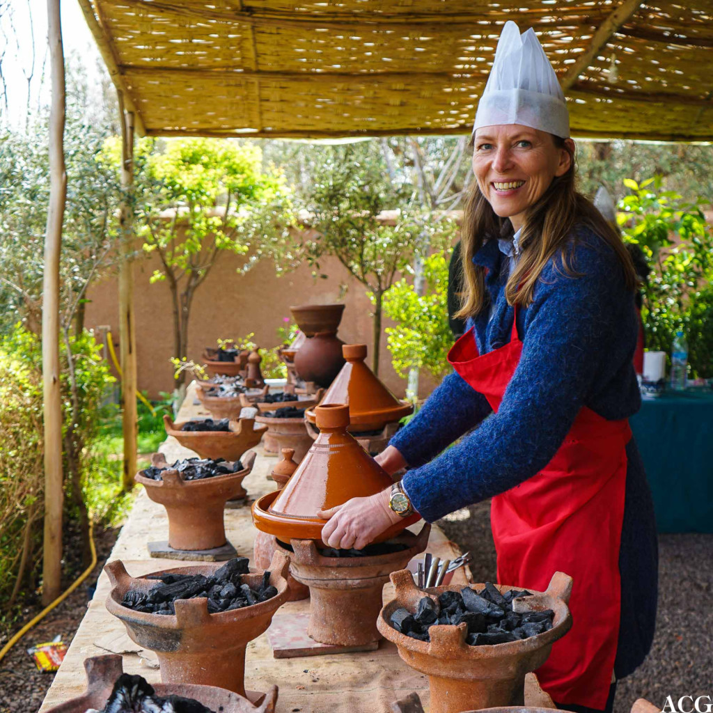 Blid hobbykokk på kurs i Marrakech