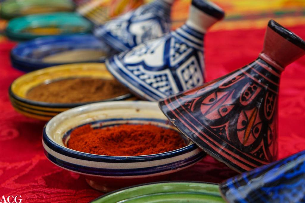 Krydder til marokkansk mat