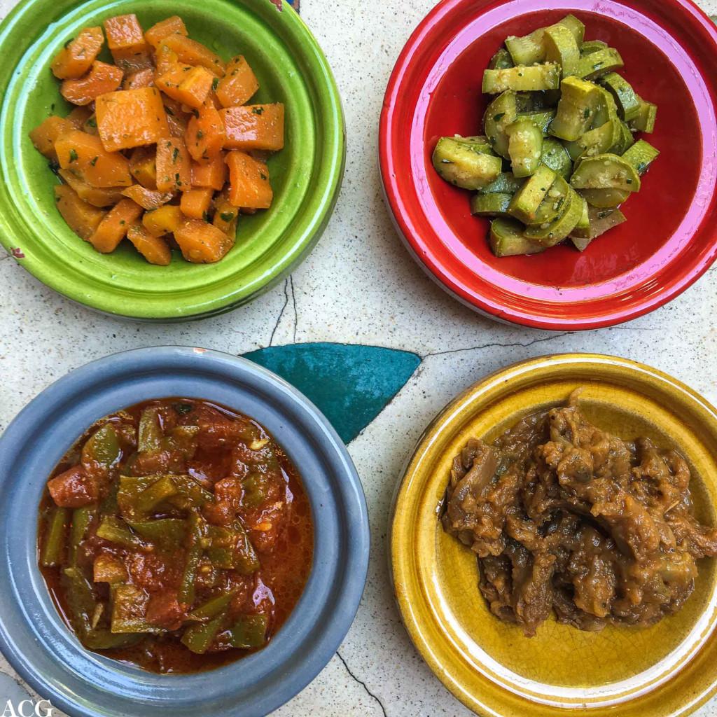 Klassiske marokkanske salater