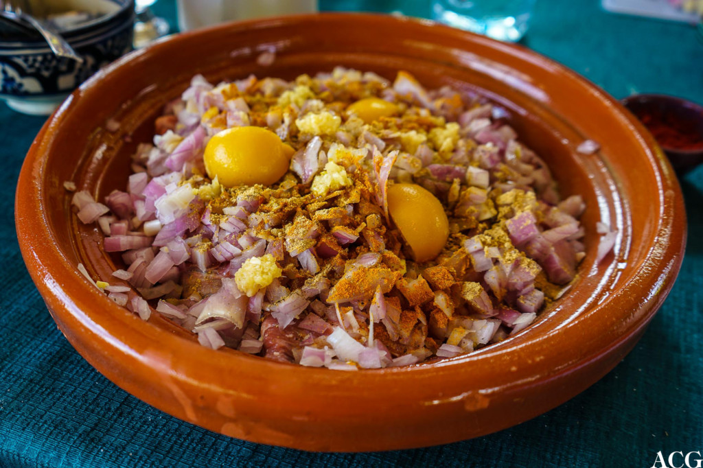 preservert sitron i salt tagine