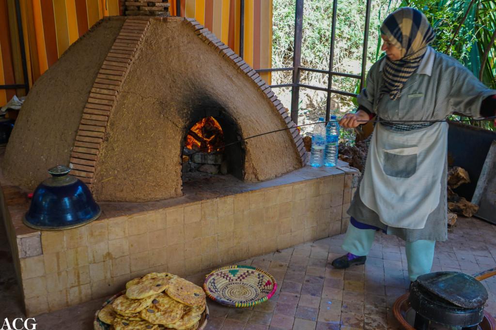 tradisjonell tafernout-ovn