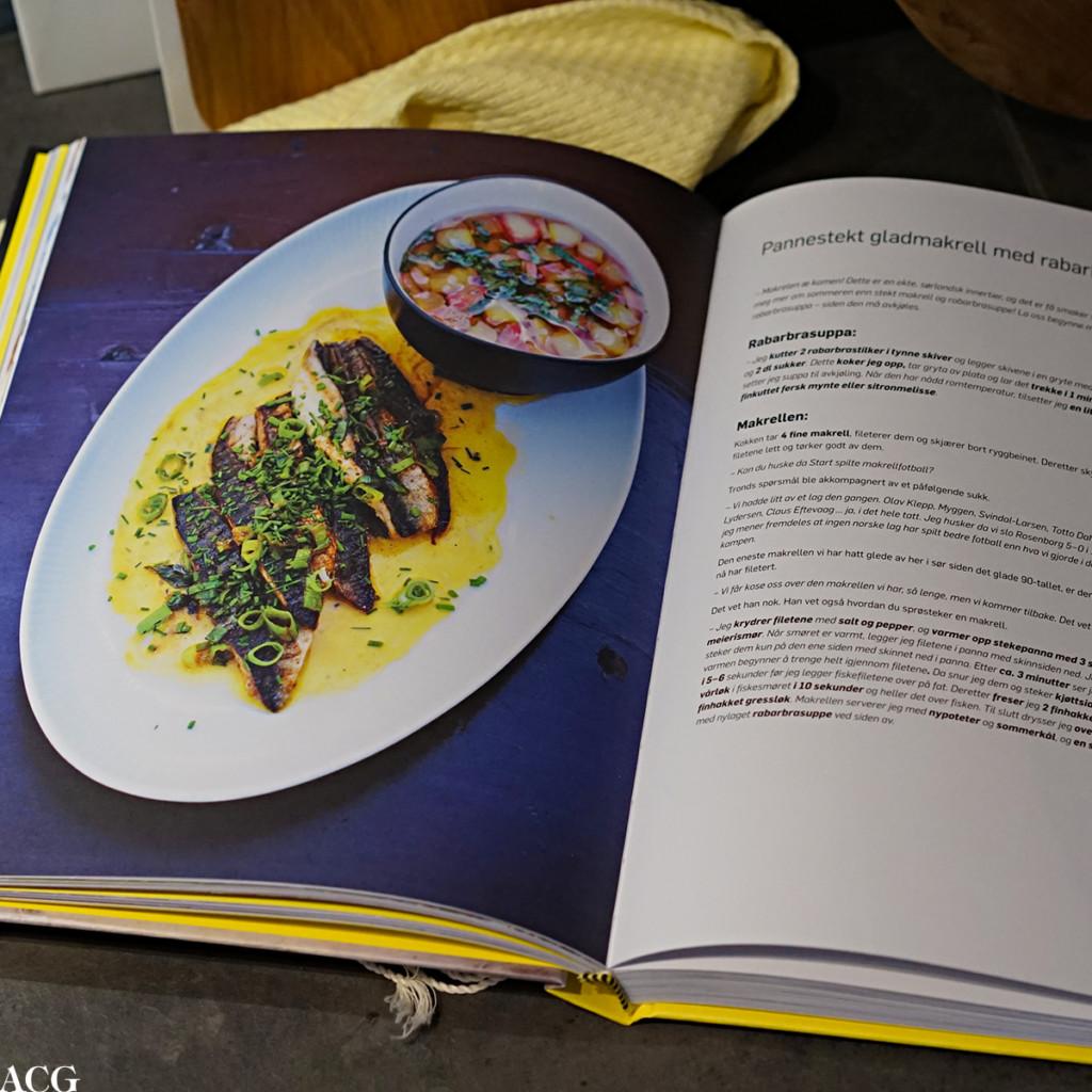 Oppskrift på stekt makrell fra kokeboka Hjemme hos Trond Moi