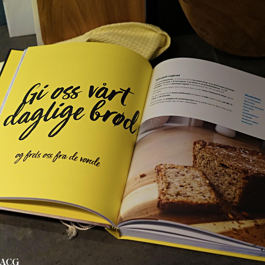 Oppskrift på rugbrød fra kokeboka Hjemme hos Trond Moi
