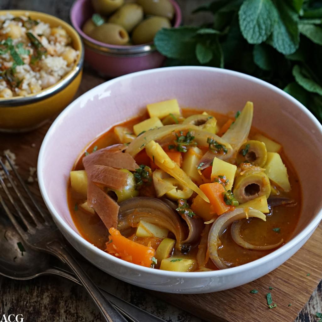 marokkansk vegetargryte