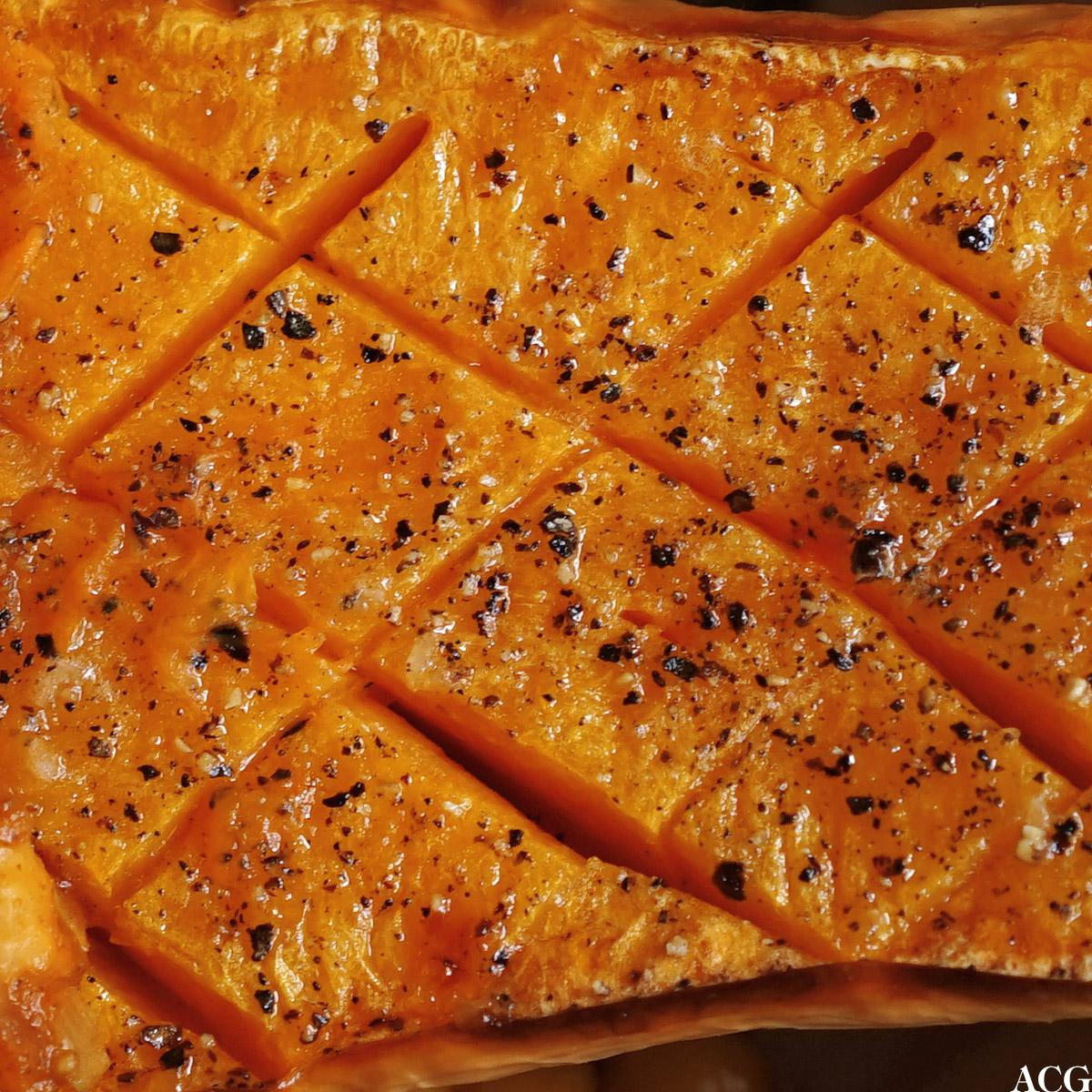 bakt gresskar