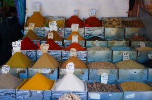 Marrakech 0317 shopping krydder