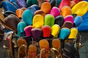 Marrakech 0317 shopping sko