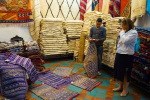 Marrakech 0317 shopping tepper