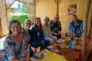Marrakech 0317 tarik gruppe lunsj